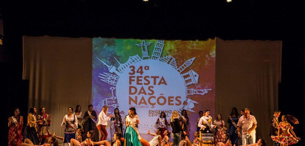 Rainhas de cada país foram apresentadas na cerimônia de ontem (Foto: Adílson Silva)