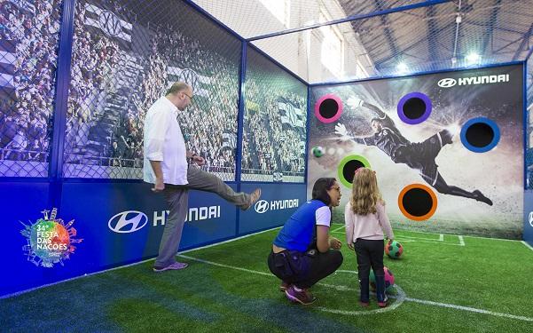 Espaço interativo da Hyundai: atividades para todas as idades