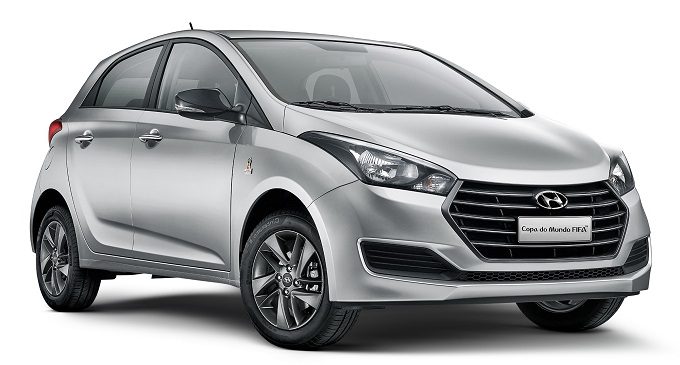 HYUNDAI; HB20; WORLD CUP; 2018