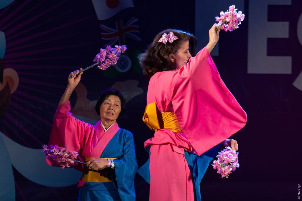 Grupo Kimie Buyoo de Danças Japonesas (Foto Perigo)