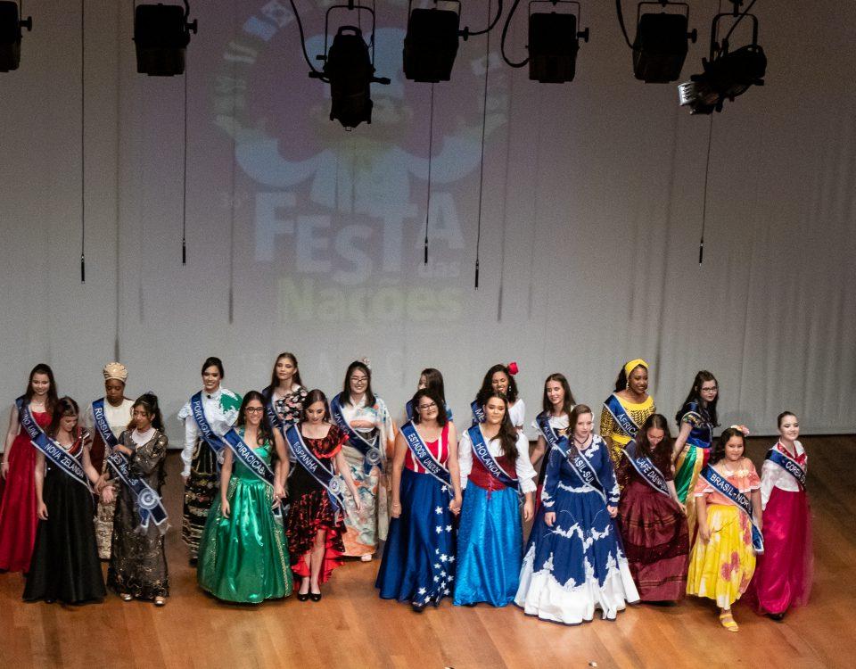 Rainhas da 36ª Festa das Nações