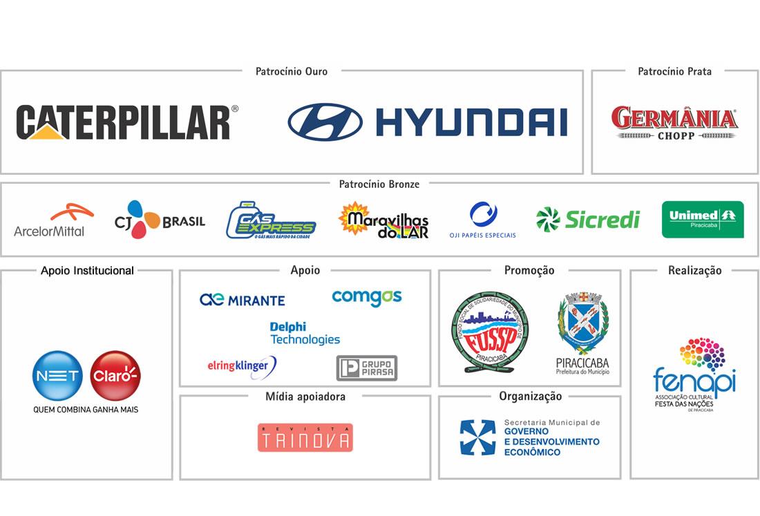 Apoio e Patrocinadores 2019